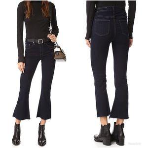 Rag & Bone High Rise Crop Flare Jeans Size 29 NWT
